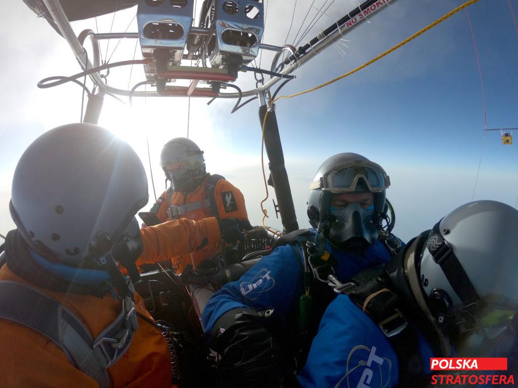 Lot balonem Polska Stratosfera Punya Project