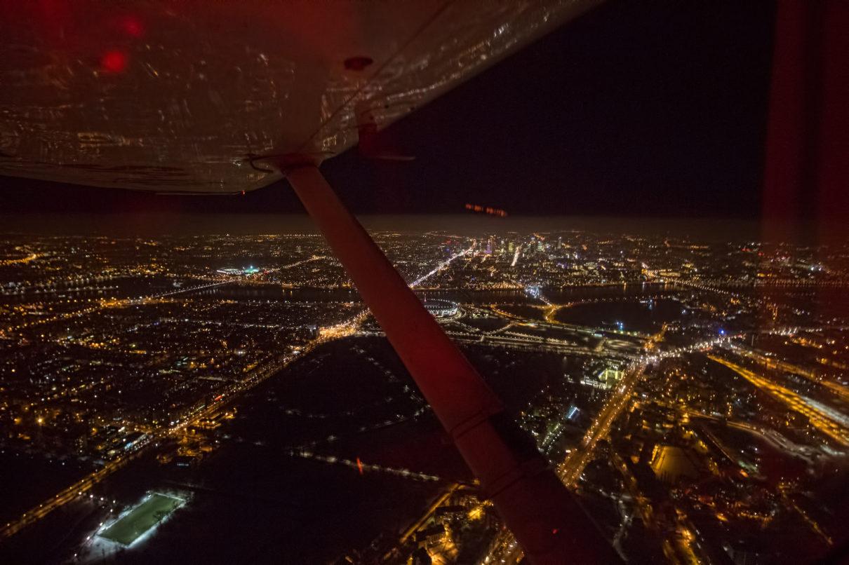 VRF noc szkolenie Aeroklub warszwaski