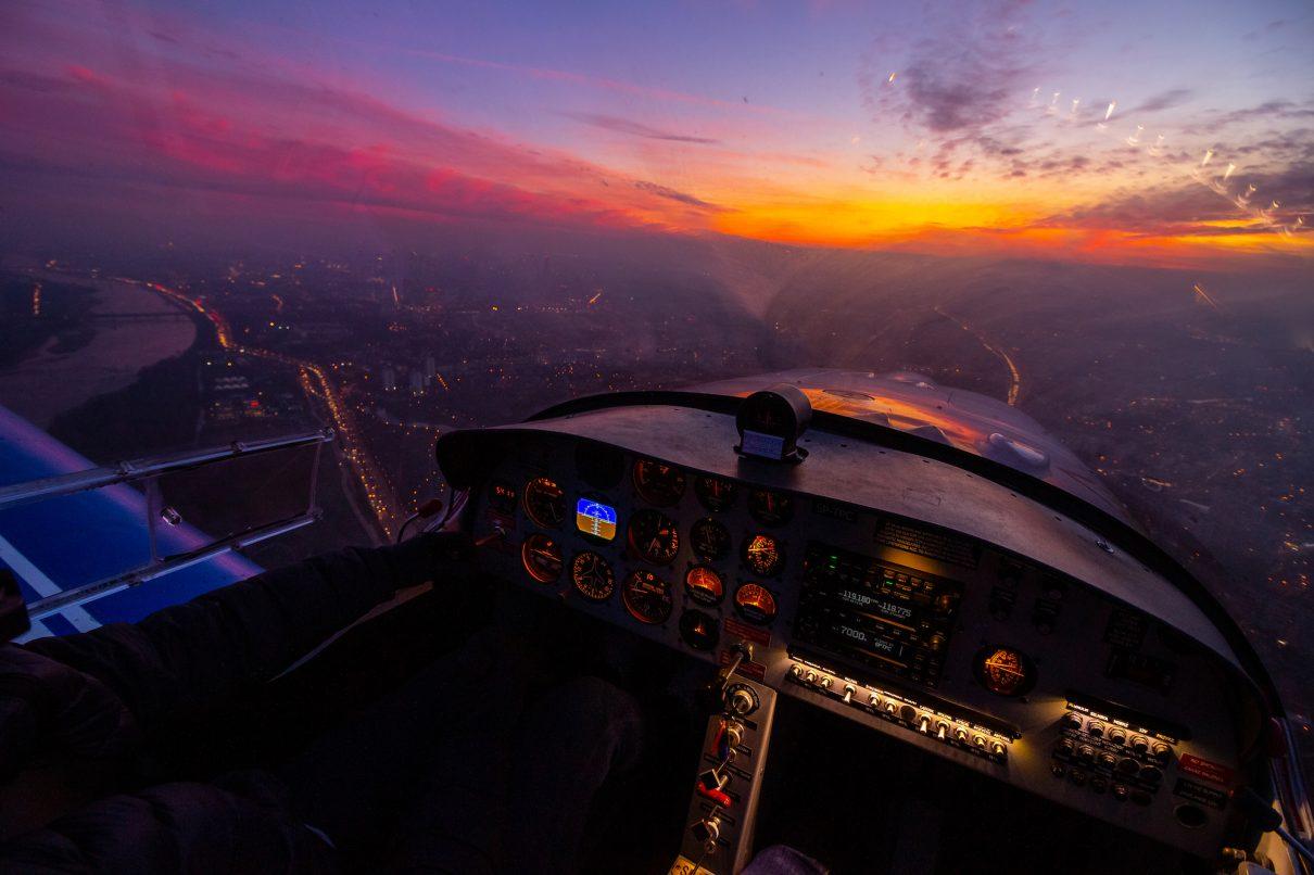 VFR Noc Aeroklub Warszawski
