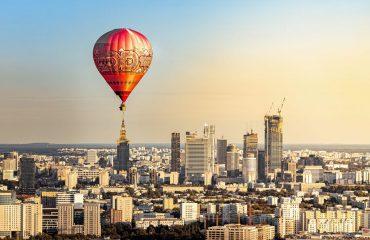 balon na ogrzane powietrze